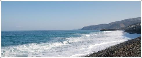 Itoigawa coastline